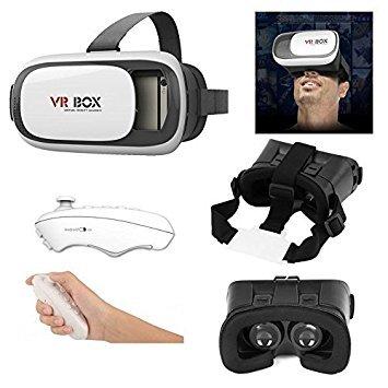 Vr Box Control Bluetooth Gafas Realidad Virtual Con Control Para